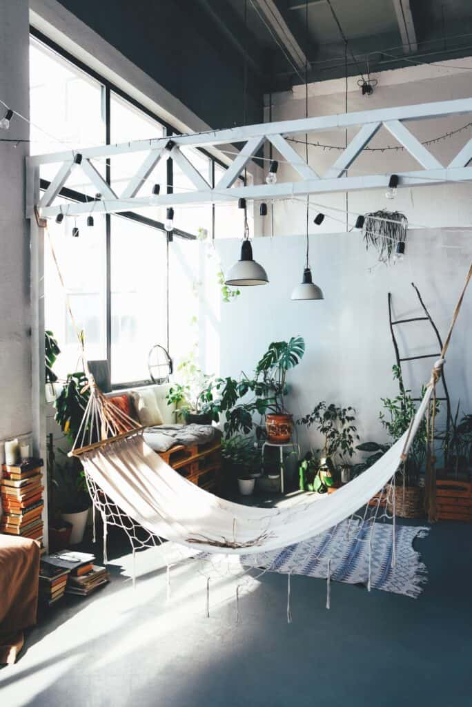 elegance, beautiful, trendy, nap, textile, style, staircase, natural, flower, green, home garden