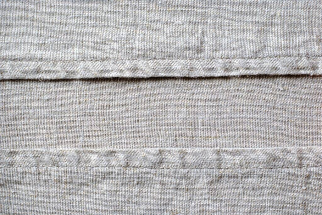 This is linen fabric.
