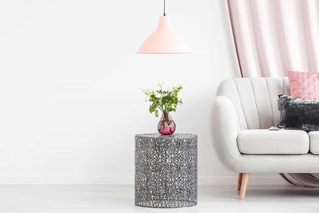 tiny accent table